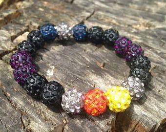 Child Size Multi color Rustic Cuff Style Bracelets