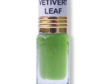 Freshly packed handmade Vetiver/Khus Leaf 3ml Fragrance Oil