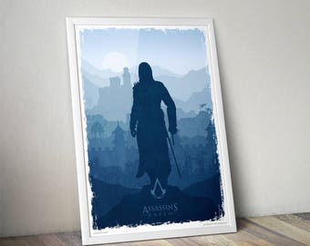 Assassin's Creed fan art poster 13x19""