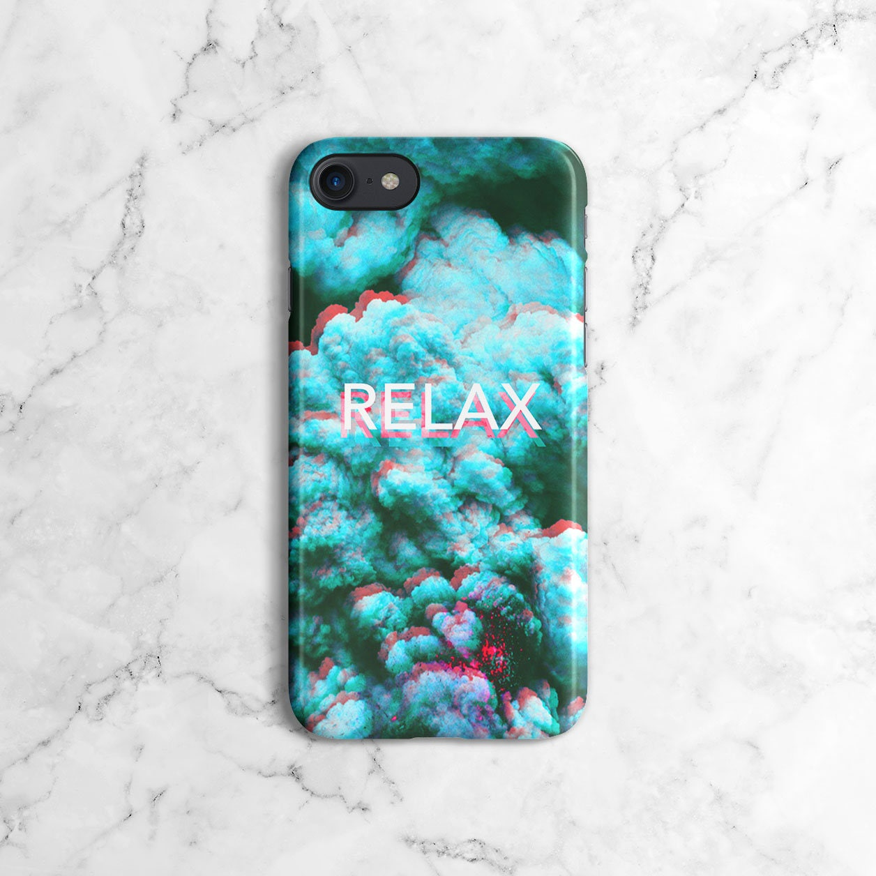 trippy blue smoke relax tumblr phone case for iphone 6 6s. Black Bedroom Furniture Sets. Home Design Ideas