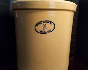 Marshall Pottery Inc 3 Gallon Crock