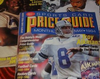 90s Dallas Cowboys Troy Aikman Emmitt Smith Football (3) Magazines