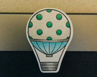 Cute Air Balloon webcam cover !Custom!