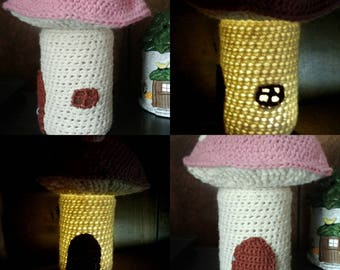Tea light Fairy House