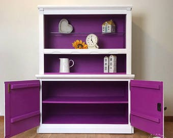 Small dresser, storage, cupboard, dresser, handpainted