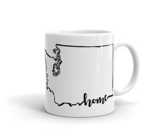 Washington Home State - Coffee Mug