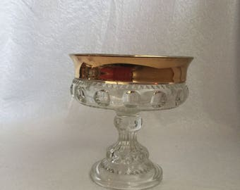 Kings crown candy dish