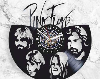 Pink Floyd band Rock music Vinyl Record Wall Clock Design Art Decor best Gift Decor
