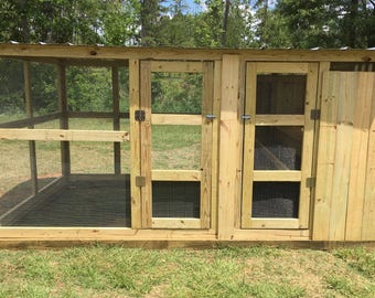 Chicken Coop - The Lodge 8'X12'