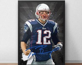 Tom Brady Poster - New england Patriots