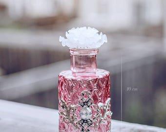 Antique Silver Pink bottle