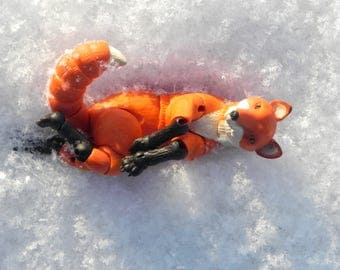 BJD Fox, bjd art doll, bjd animals