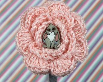 Sofia the First Crochet Flower Headband - Clover