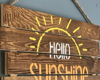 Hello Sunshine Wall Decor