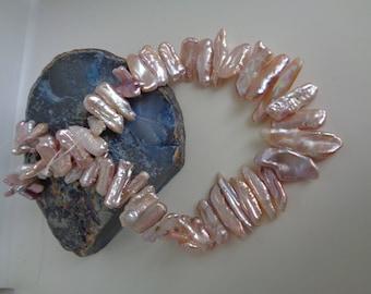 Light Lavendar Biwa Pearls
