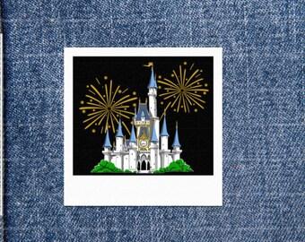 Firework Castle Patch