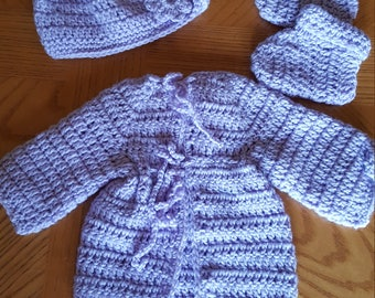New Born Sweater Set