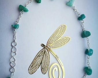Russian Amazonite Gemstones handmade bracelet