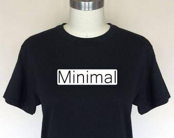 Minimal Removable T Shirt Decal White Originally Designed Temporary T Shirt Sticker