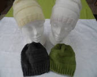 Beanies round child girl or boy colors to choose