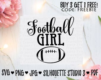 Football Girl SVG T-Shirt Image Design for Vinyl Cutters Sublimation Print DIY Shirt Design American Football Season Girlfriend