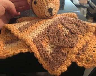 Personalised lion lovey