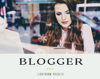 Blogger professional lightroom presets