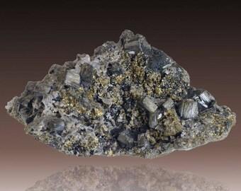 Bournonite; Baia Sprie, Maramureș Co., Romania  --- fine and rare minerals