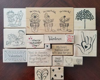 Valentine's Day Stamp Set - Gently Used