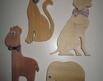 Kids animal decorations