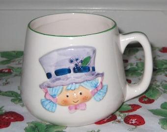 Vintage Strawberry Shortcake Blueberry Muffin Mug