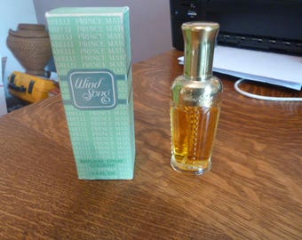 Vintage WIND SONG Natural Spray Cologne Prince Matchabelli 1.4oz w / Box