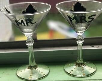 Michigan martini glasses