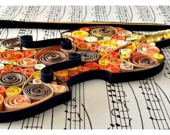Violin An Autumn's Day - Original art piece