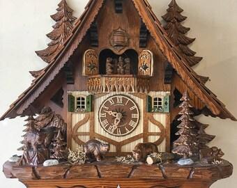 Schneider Black Forest Chalet Cuckoo Clock