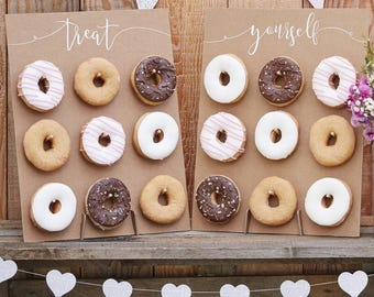 Donut Wall Cake Alternative