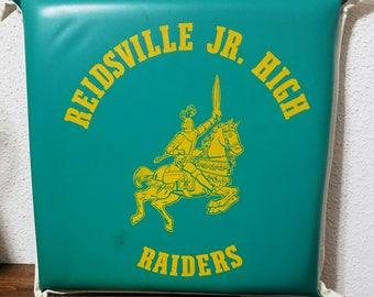 Vintage Raiders Jr. High School Team Seat Cushion