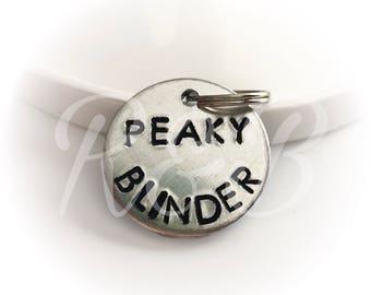Dog ID tag - Peaky Blinder