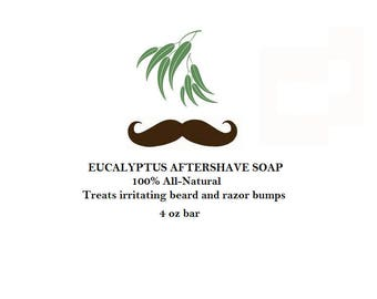 Eucalyptus Aftershave Cooling Soap
