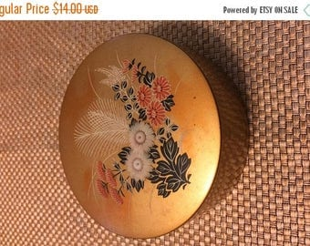 ON SALE Gold lotus flower coaster set