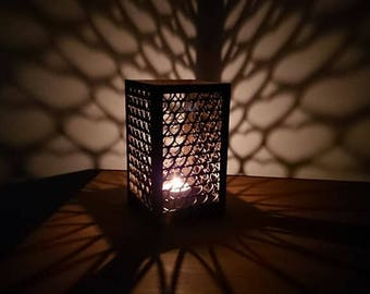 Beautiful laser cut heart tea light holder, valentines day, birthday, home decor, gifts, cosy, mothers day.