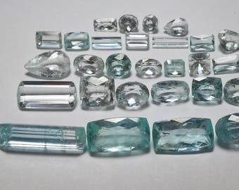 Faceted Aquamarine