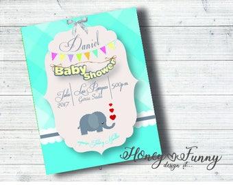 Invitation baby shower 4