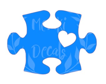 Autism Awareness Puzzle Piece