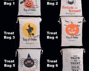 Halloween Trick or Treat Bucket - Halloween Bucket - Trick or Treat Bag - Halloween Sack - Kids Halloween - Candy Bag - Halloween Sack