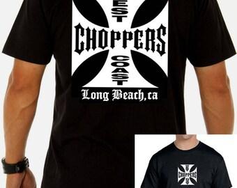 West coast choppers men t shirt different sizes wcc chopper builder