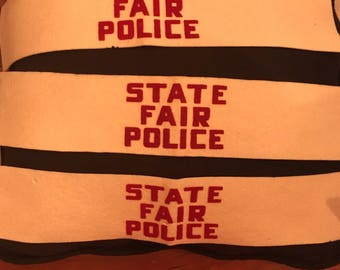 State Fair Police Arm Bands