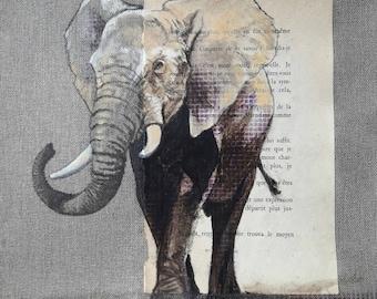 ELEPHANT.08. 30X30cm