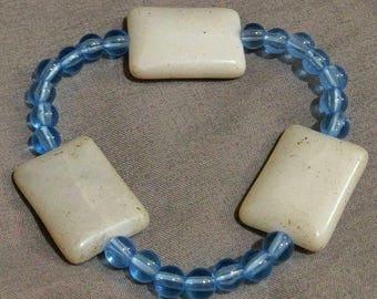 Jasper Stretch Bracelet