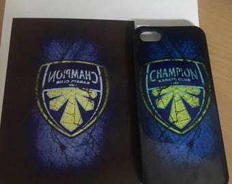 Plastic Champion logo case for iPhone case for iPhone 7, iPhone 7 Plus, iPhone 6s, iPhone 6s Plus, iPhone 6, iPhone se Karate championship